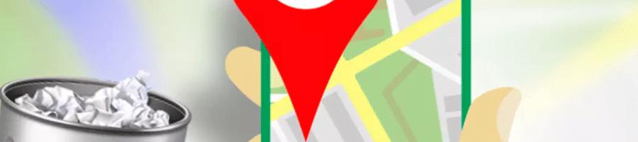 Borrar historial en Google Maps