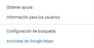 Como ver nuestra actividad en Google maps
